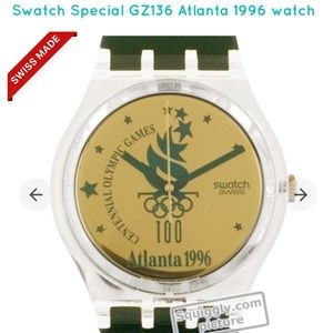 Swatch Special GZ136 Watch 1996 - Vintage NWT